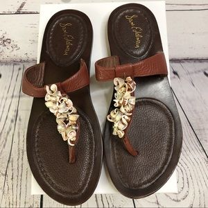Sam Edelman Shell Sandals